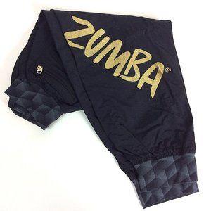Zumba Cropped Capri Dance Workout Pants Small
